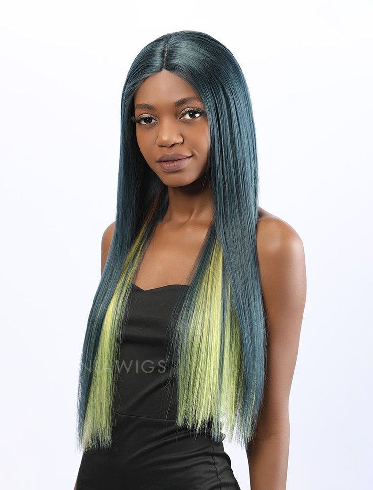 Brittany | Remy Hair 20 Inches Lace Front Wig Balayage