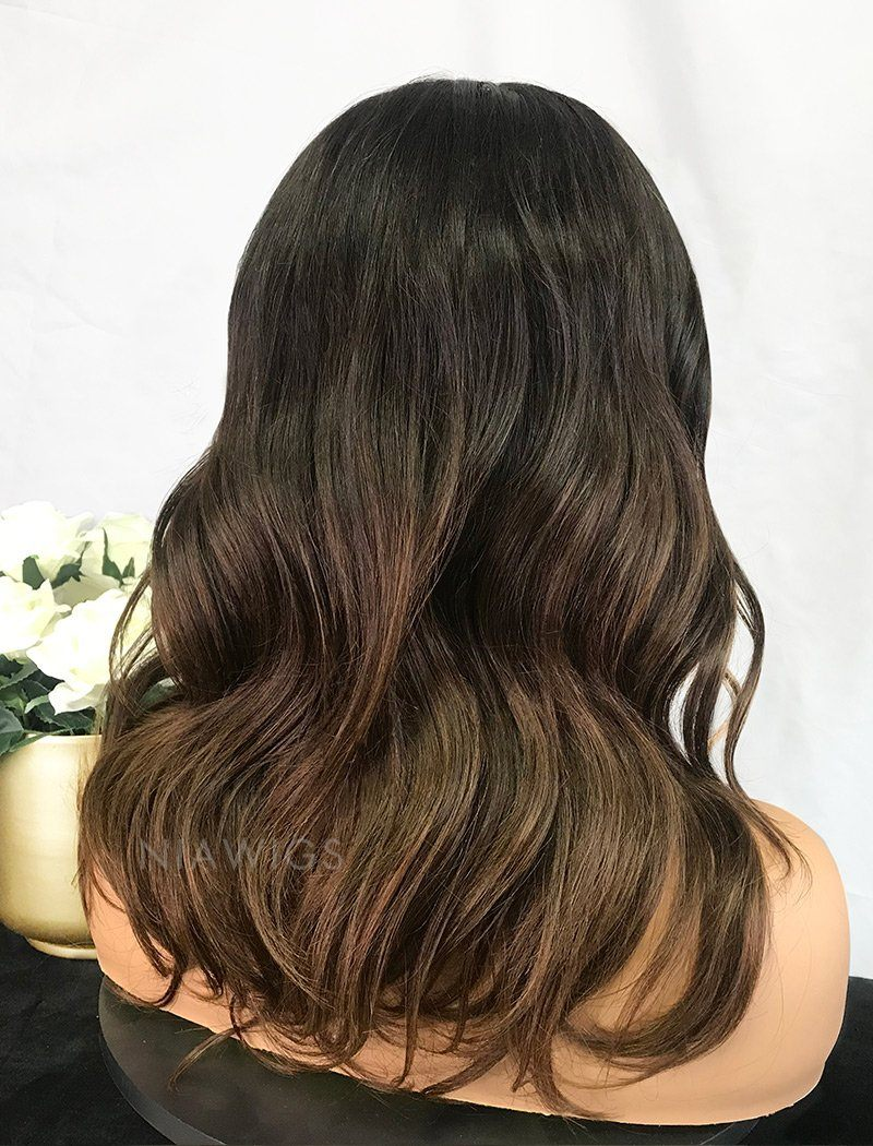 Load image into Gallery viewer, Beverly||Remy Hair 14 Inches Lace Front Wig Balayage