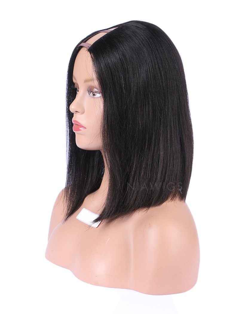 Bob Straight U Part Wig Short Bob Human Hair Uparting Wigs