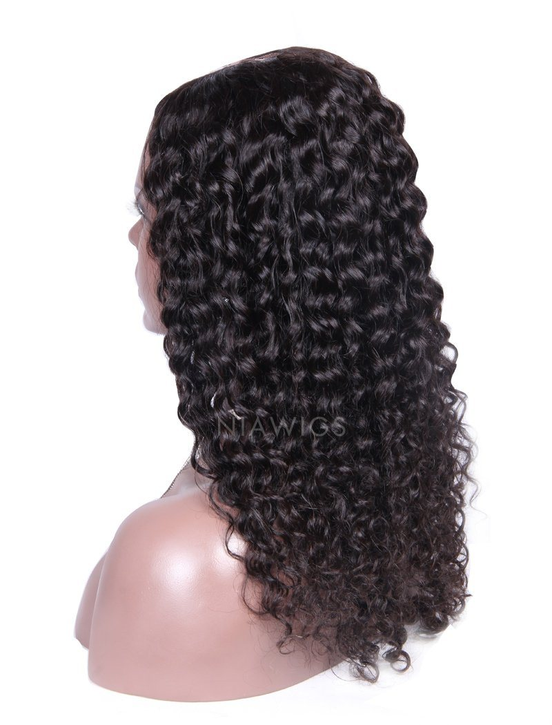2020 New Arrival Loose Curly U Part Human Hair Wigs