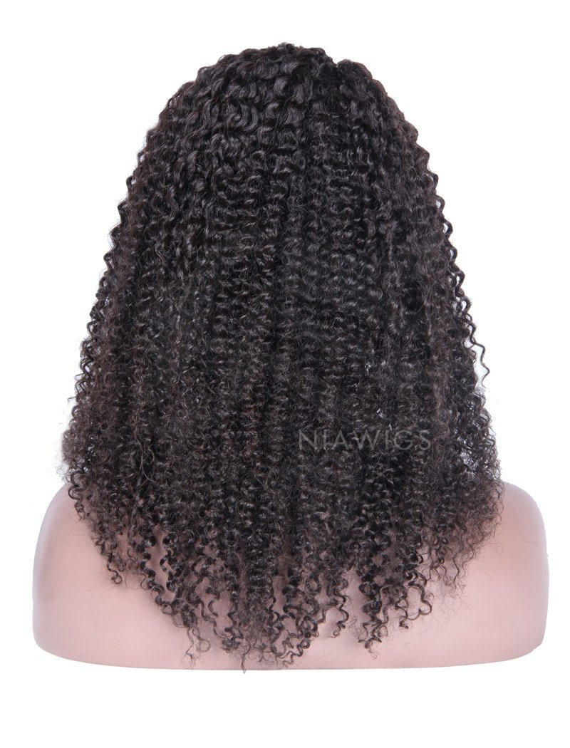Load image into Gallery viewer, Kinky Curly U Part Human Hair Wigs With Right Part Opening