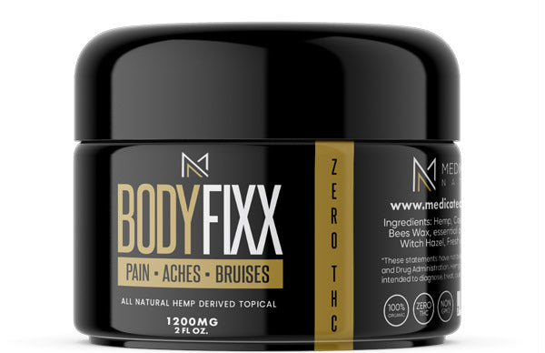 BODY FIXX - CBD Topical - 1200mg