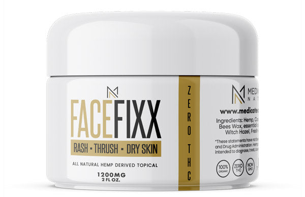 FACE FIXX - CBD Topical  - 1200mg