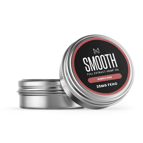 SMOOTH - CBD Lip Balm - Bubble Gum - 25MG FEHO