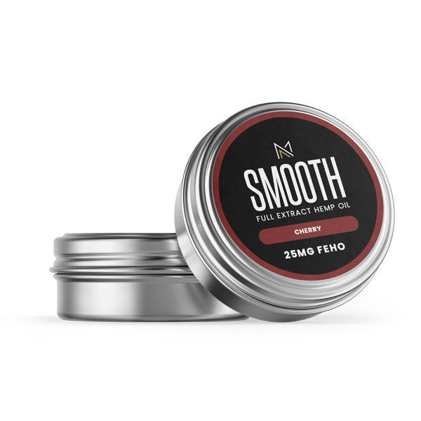 SMOOTH - CBD Lip Balm - Cherry - 25MG FEHO