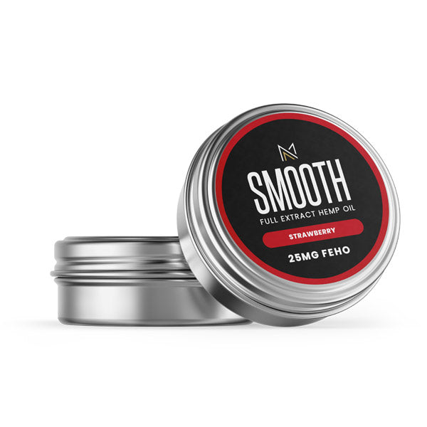 SMOOTH - CBD  Lip Balm - Strawberry - 25MG FEHO