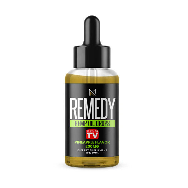 REMEDY - CBD Tincture - Pineapple - 200MG