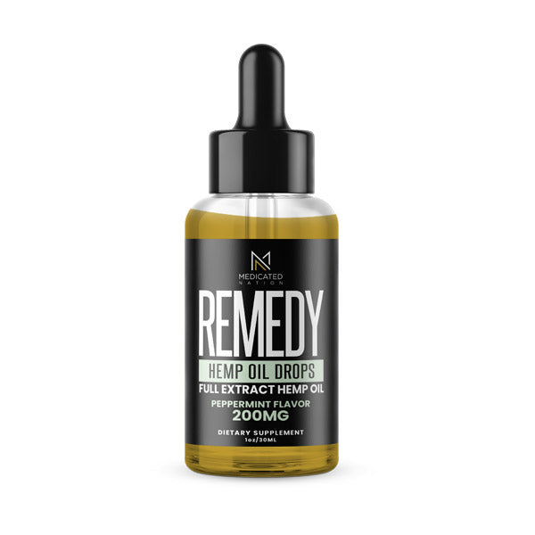 REMEDY - CBD Tincture - Peppermint - 200MG