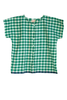 Gingham khadi top