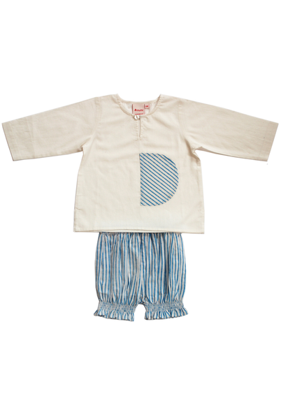 Pocket Kurta+bloomer set