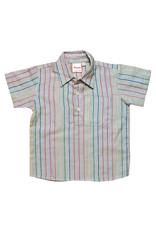 California shirt multi-stripes
