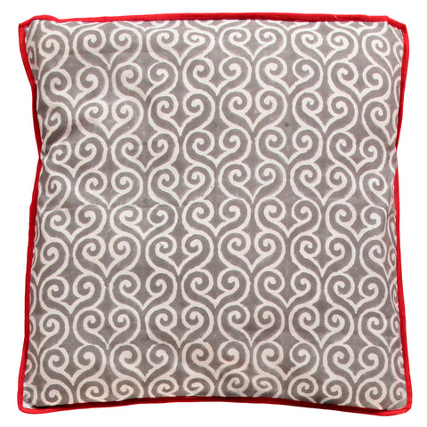Swirly pillows