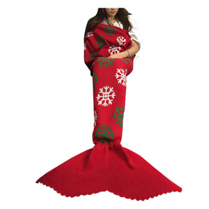 The Mermaid Tail Blanket - A Holiday Christmas Special - MermaidTailsBlanket