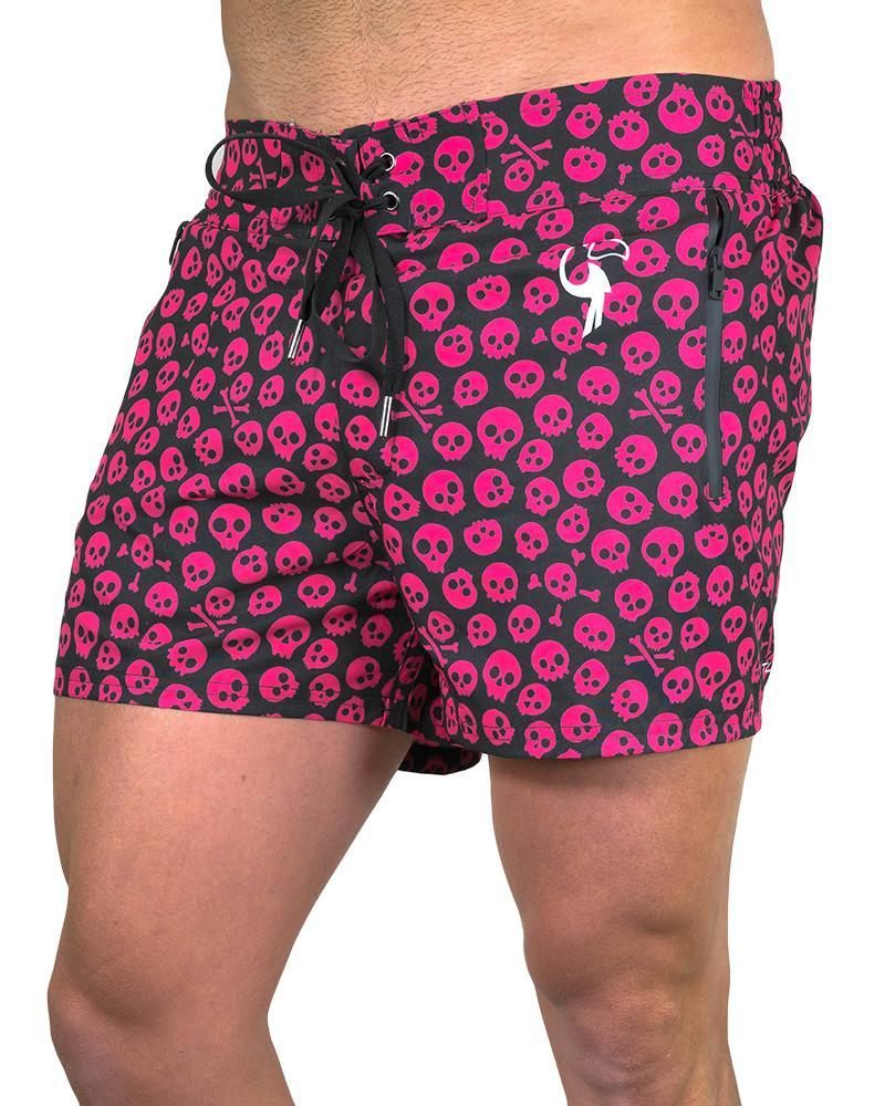 Skull Island Black Swim Shorts