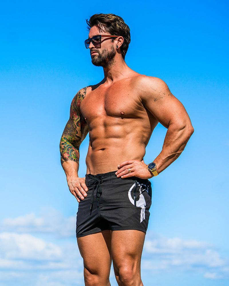 Black Tucann Swim Shorts