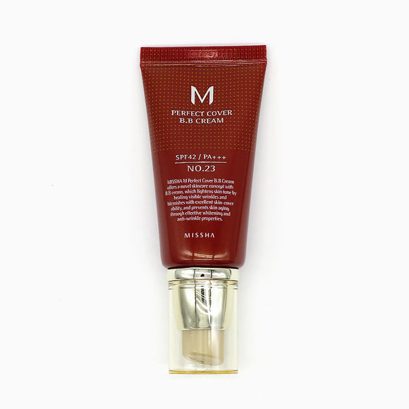 M PERFECT COVER BB CREAM SPF 42 PA+++ NO.23 NATURAL BEIGE