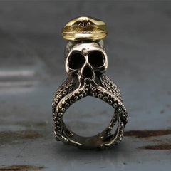 Captain Octopus Ring