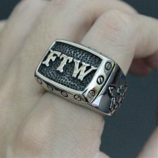 Steel FTW Ring
