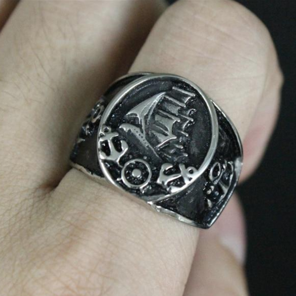 Pirate's Ship Ring