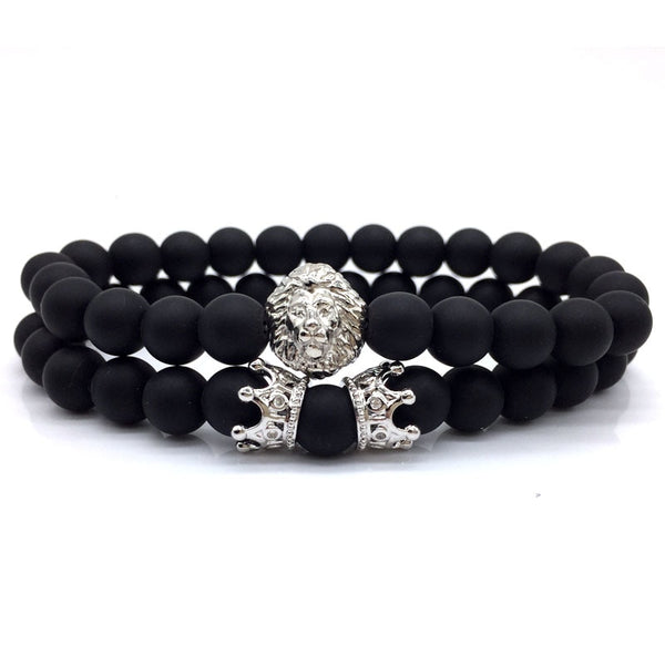 King of The Jungle Bracelet Set Silver