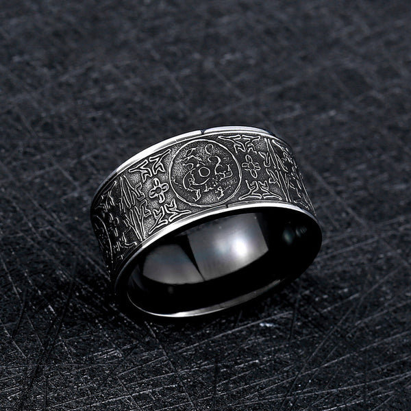 Dragon Symbols Ring