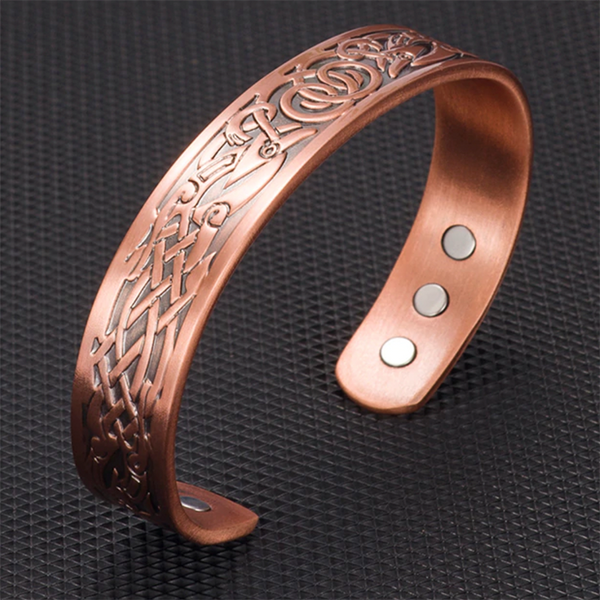 Magnetic Energy Viking Bracelet