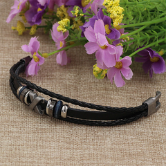 Multilayer Casual Leather Bracelet X