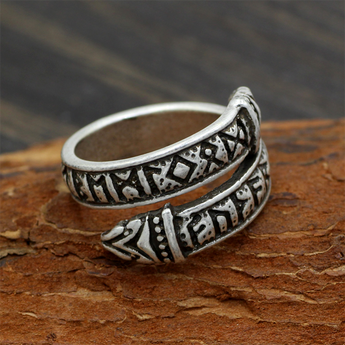 Celtic Dragon Tail Ring