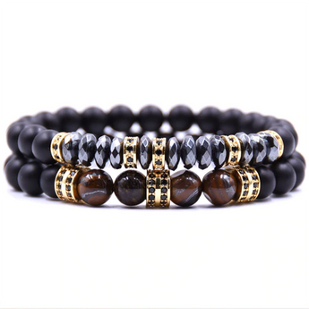 Good Energy Bracelet Set Gold