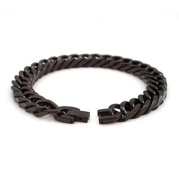 Chain of Steel Bracelet Gun Black