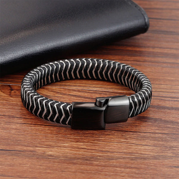 Staggered Braided Bracelet