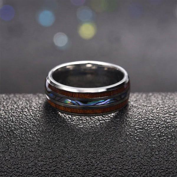 Three Elements Titanium Ring