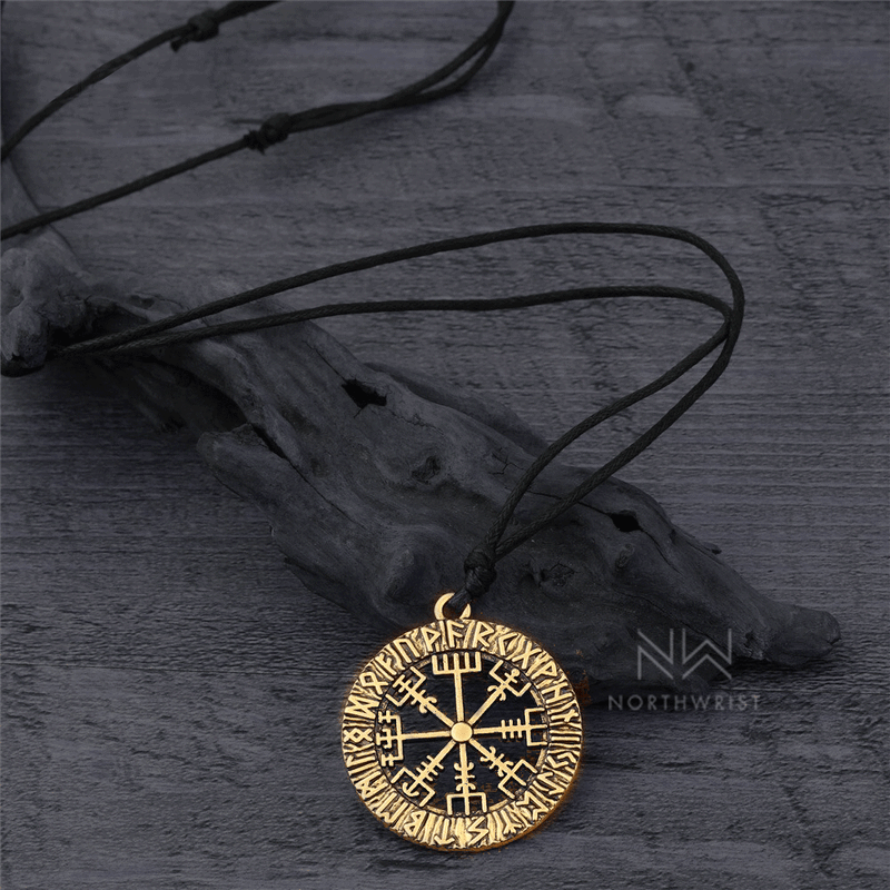 Vegvisir Runic Compass Necklace