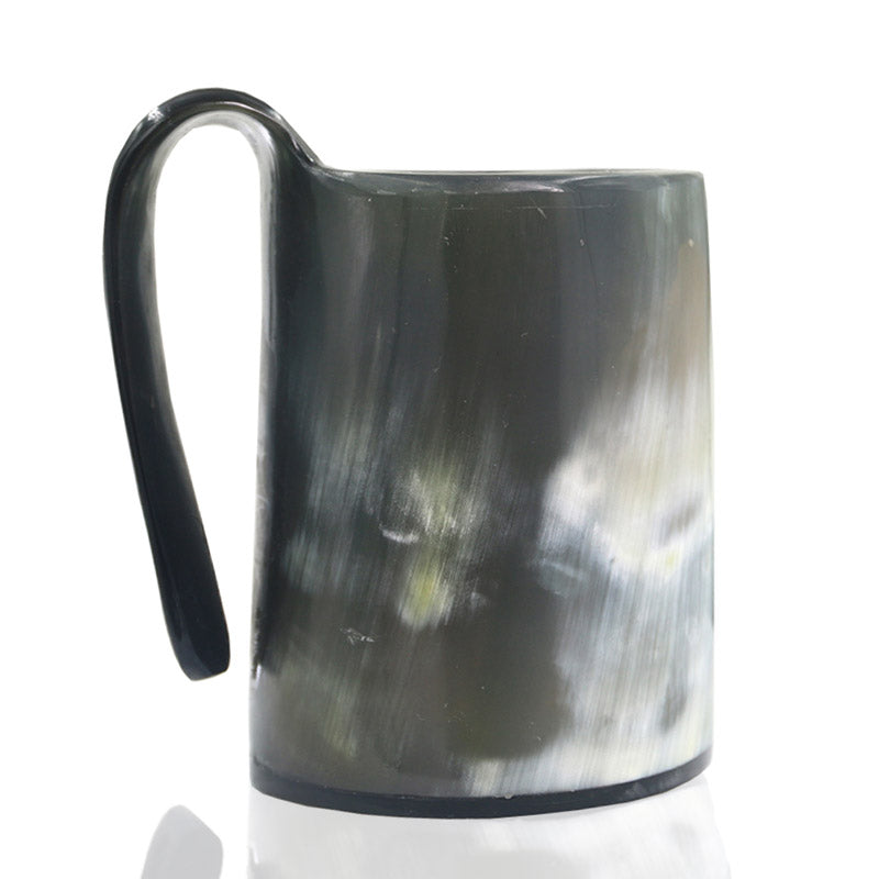 Natural Horn Viking Mug
