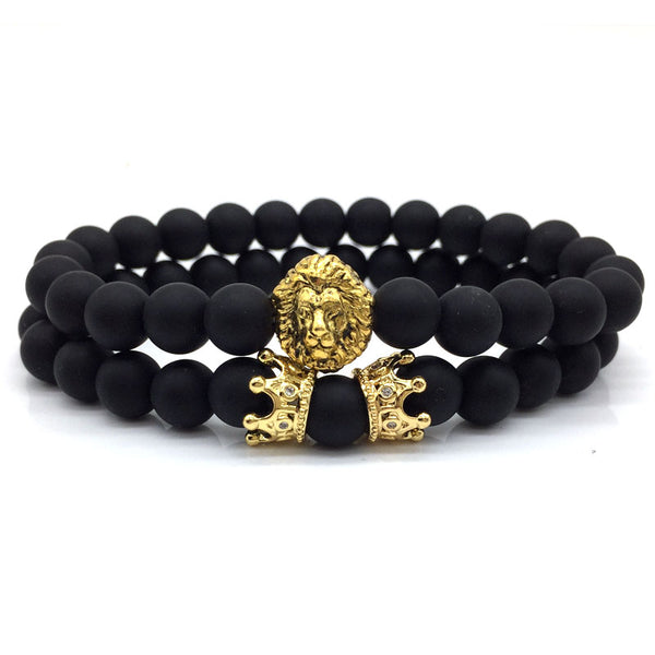 King of The Jungle Bracelet Set Gold