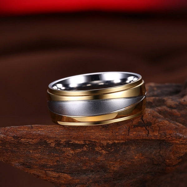 Double Titanium Ring