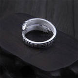 Ouroboros Adjustable Ring