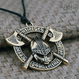 Valknut Dead Warrior Necklace