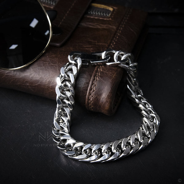 Chain of Steel Bracelet Silver