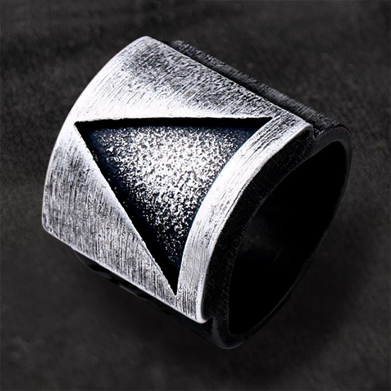 Harmony Triangle Viking Ring