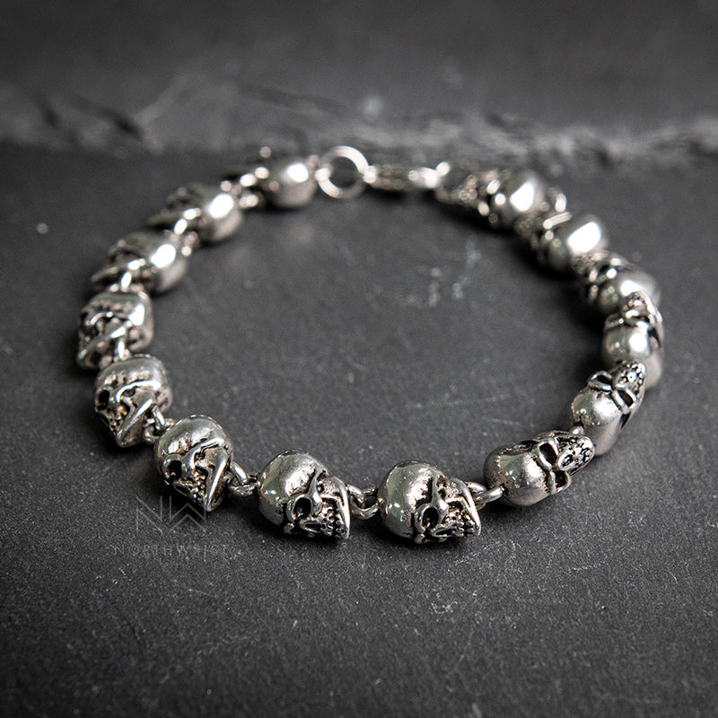 Skeleton Chain Bracelet