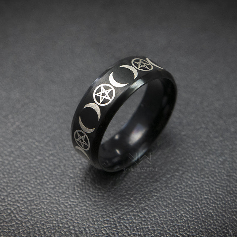 Talisman Ring Black