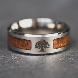 Yggdrasil Wood Ring