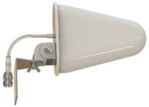 Yagi WiFi Antenna Dual Band - (2.4GHz) and (5GHz/5.8GHz) 9dBi - Medium Range Directional LAN Network