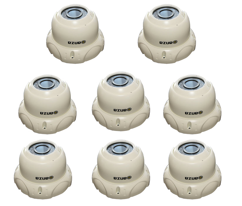 Metal IR Dome Camera Outdoor IP66 day- night verifocal 2.8-12mm CCTV