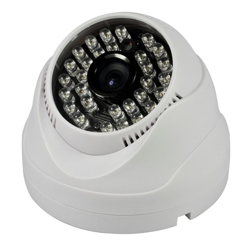 Plastic IR Dome Camera Outdoor IP65 day- night lens 3.6mm CCTV