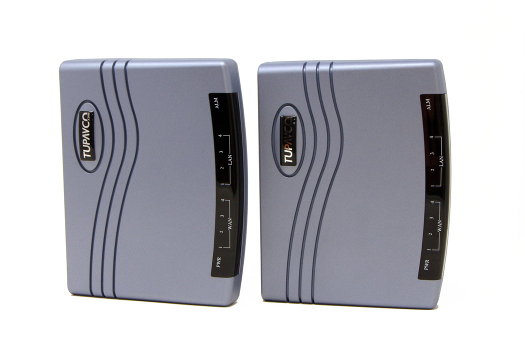 Ethernet Extender Kit (Pair 2pc) Long Range 6 Miles over single Phone Copper Wire or Network Cable