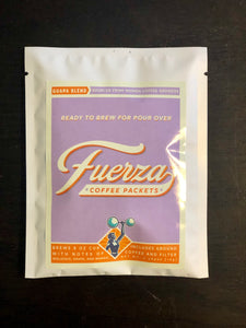 Pour Over Fuerza Coffee Packets