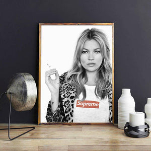 Quadro kate moss modelo 01 - Flavia do C S Toledo