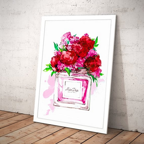 Quadro floral miss 2 - Flavia do C S Toledo